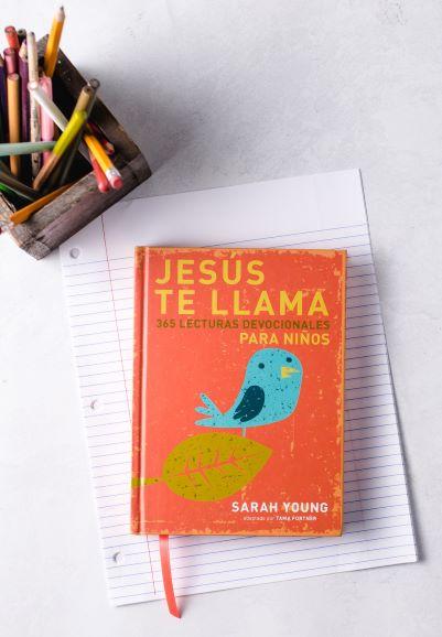 Jesus te llama para ninos with crayons