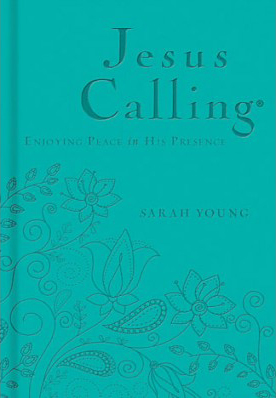 Book cover image of Jesus Calling Deluxe Teal Edition by Sarah Young.