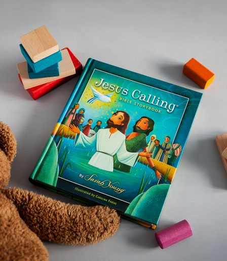Jesus Calling Bible storybook with toys