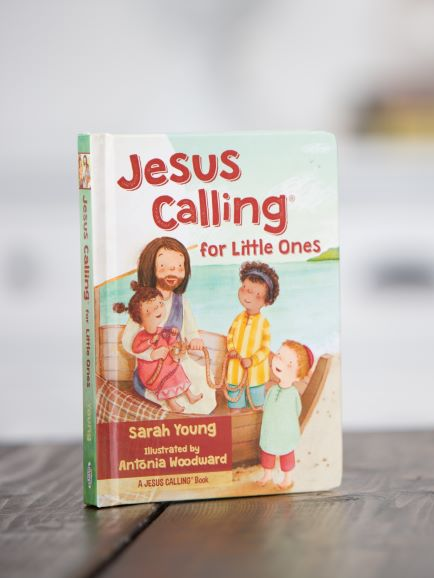 Jesus Calling for Little Ones on the table