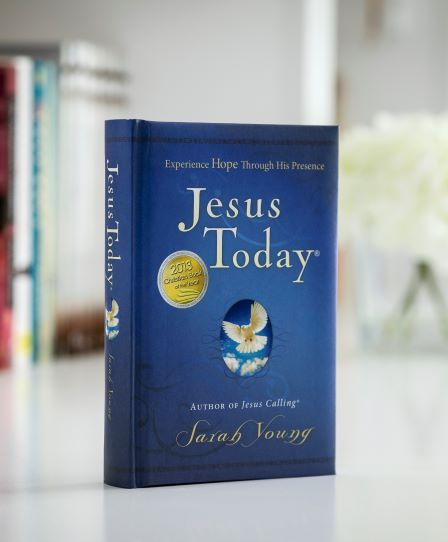 Jesus Today hardcover orignal on table