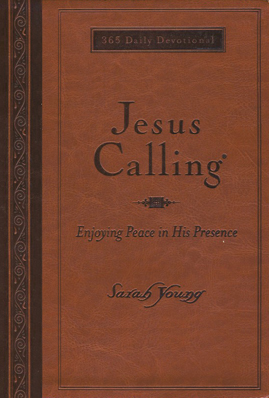 Book cover image of Jesus Calling Deluxe Edition by Sarah Young.