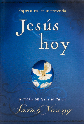 Book cover image of Jesus Today Spanish Edition, by Sarah Young.