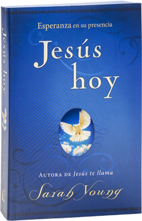 Book cover image of Jesus Today, Spanish edition, by Sarah Young.
