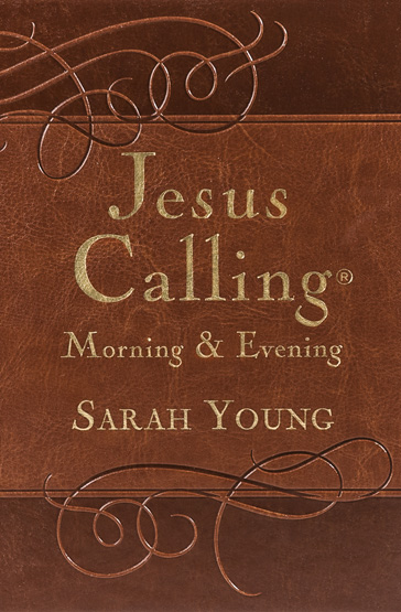 Book cover image of Jesus Calling Morning & Evening by Sarah Young.