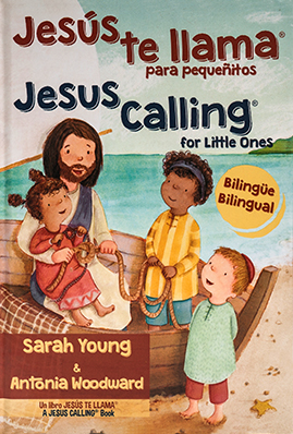 Jesus te llama para pequenitos by Sarah Young boardbook