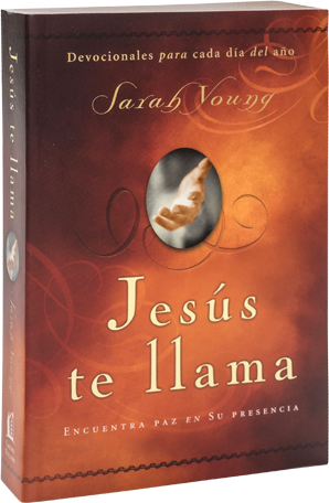 Book cover image of Jesus Calling by Sarah Young spanish soft cover