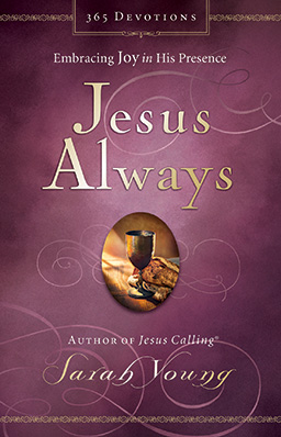 Book cover of Jesus Always by Sarah Young.