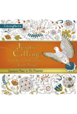 Jesus Calling: Creative Coloring & Hand Lettering book cover.