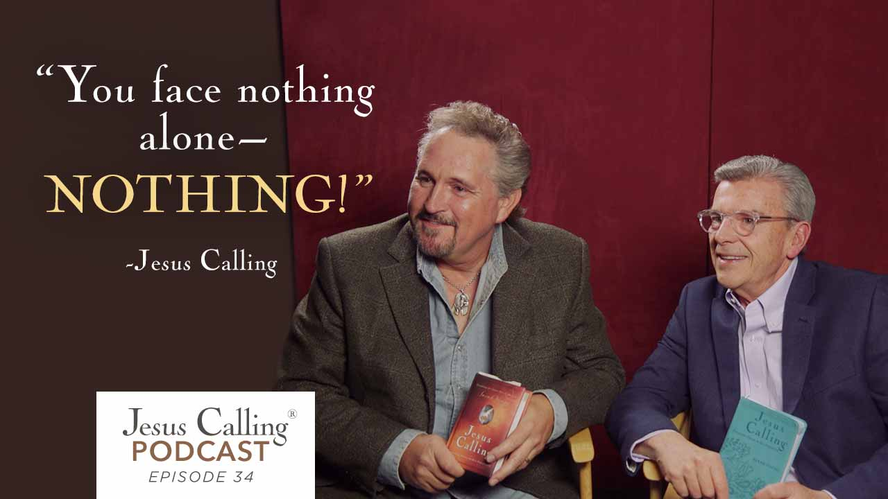 Marty Roe and J.T. Olsen talk about their friendship and ministry on this episode of the Jesus Calling podcast.