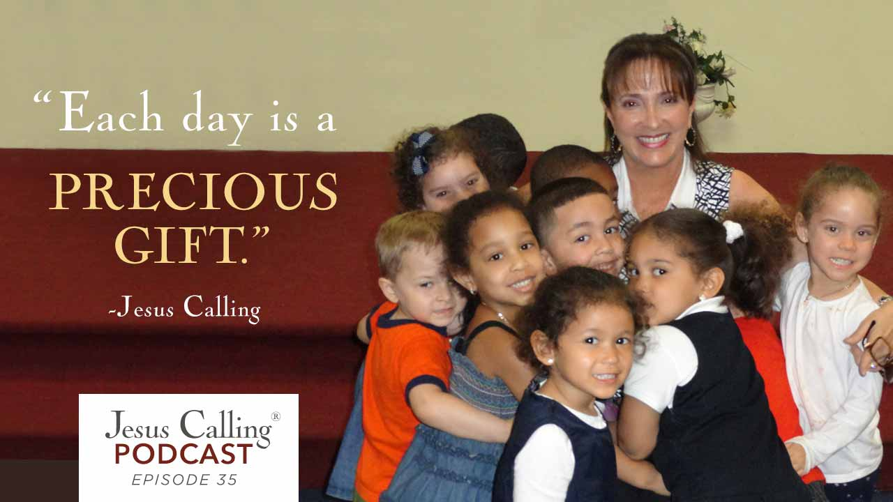 Lee Ann Mancini talks about her desire to teach children about the love of Jesus is this episode of the Jesus Calling podcast.