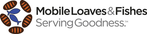 The Mobile Loaves & Fishes logo.