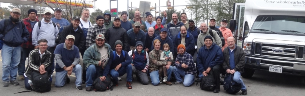 One of the Street Retreat teams poses for a photo in Austin, Texas.