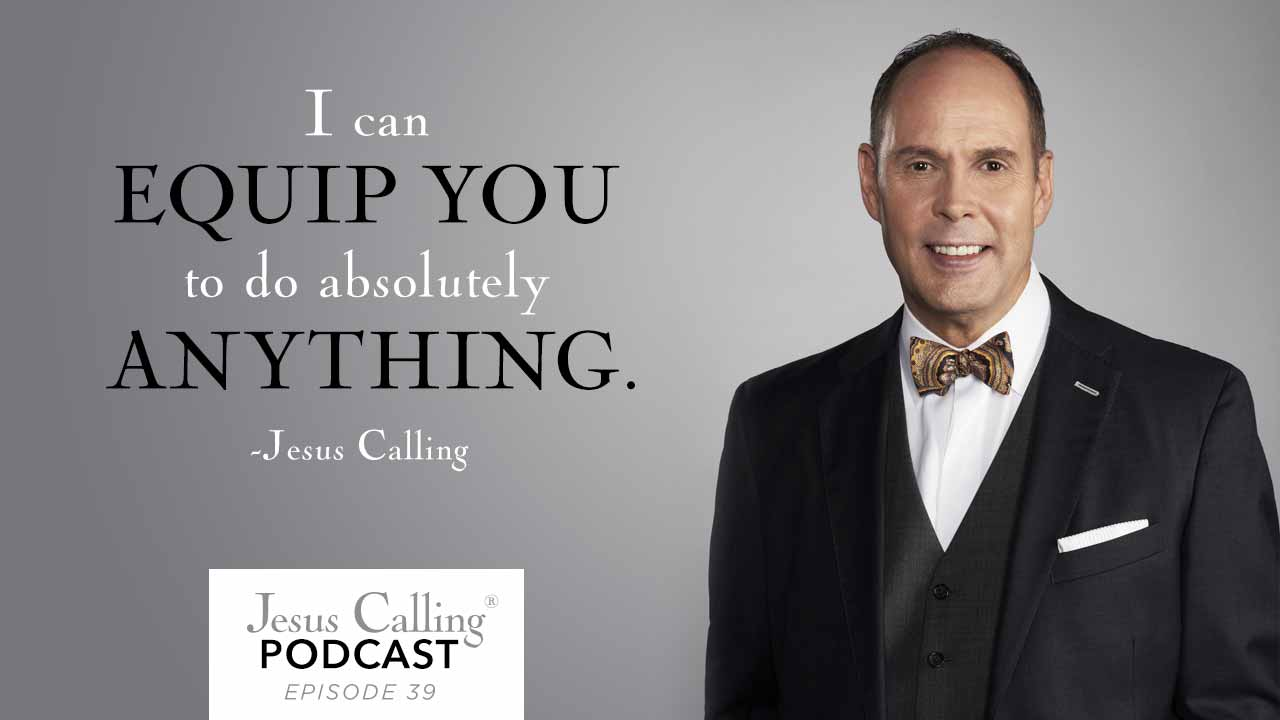 Ernie Johnson, Jr. Pursuing Wholeness over Happiness Jesus Calling Podcast
