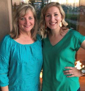 New Grandmother, Dr. Cindy Ryan and her daughter