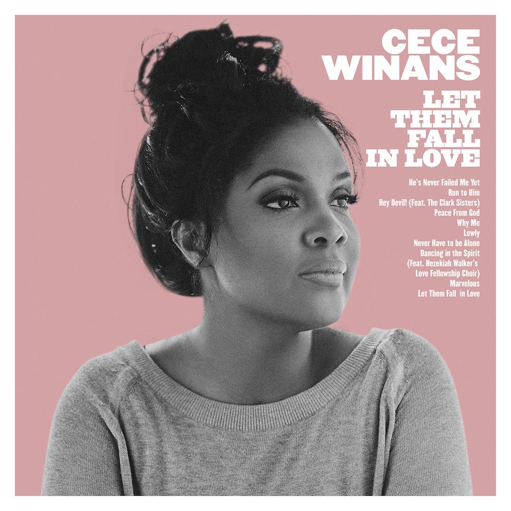 CeCe Winans' latest album, Let Them Fall In Love.