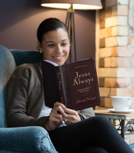 Jesus Always Large Deluxe book with woman reading