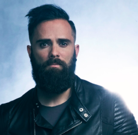 A photo of John Cooper of Skillet.