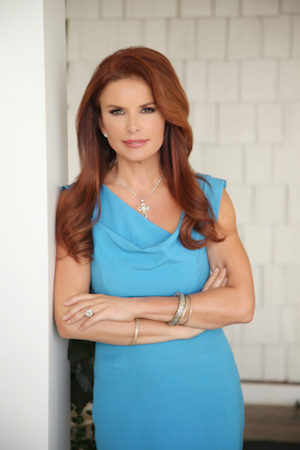 A headshot of Roma Downey.