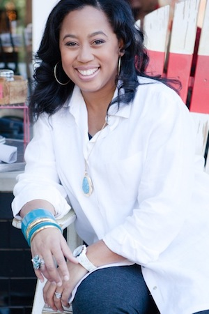 A headshot of Chrystal Evans Hurst.