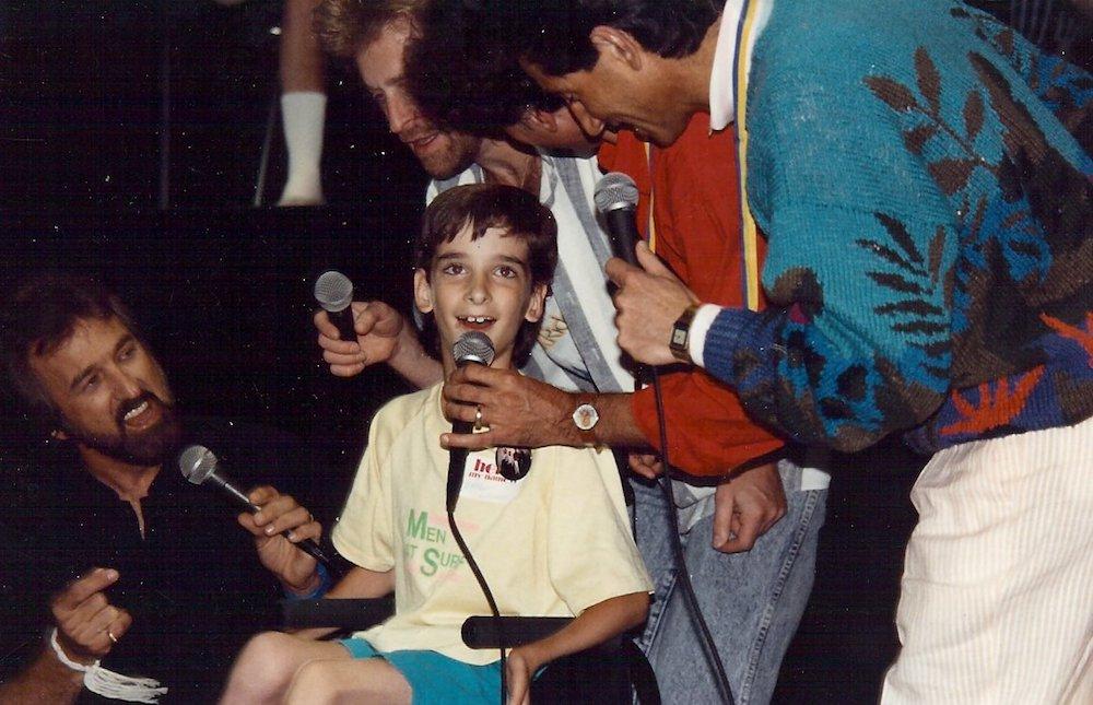 Bradley Walker at age 10.