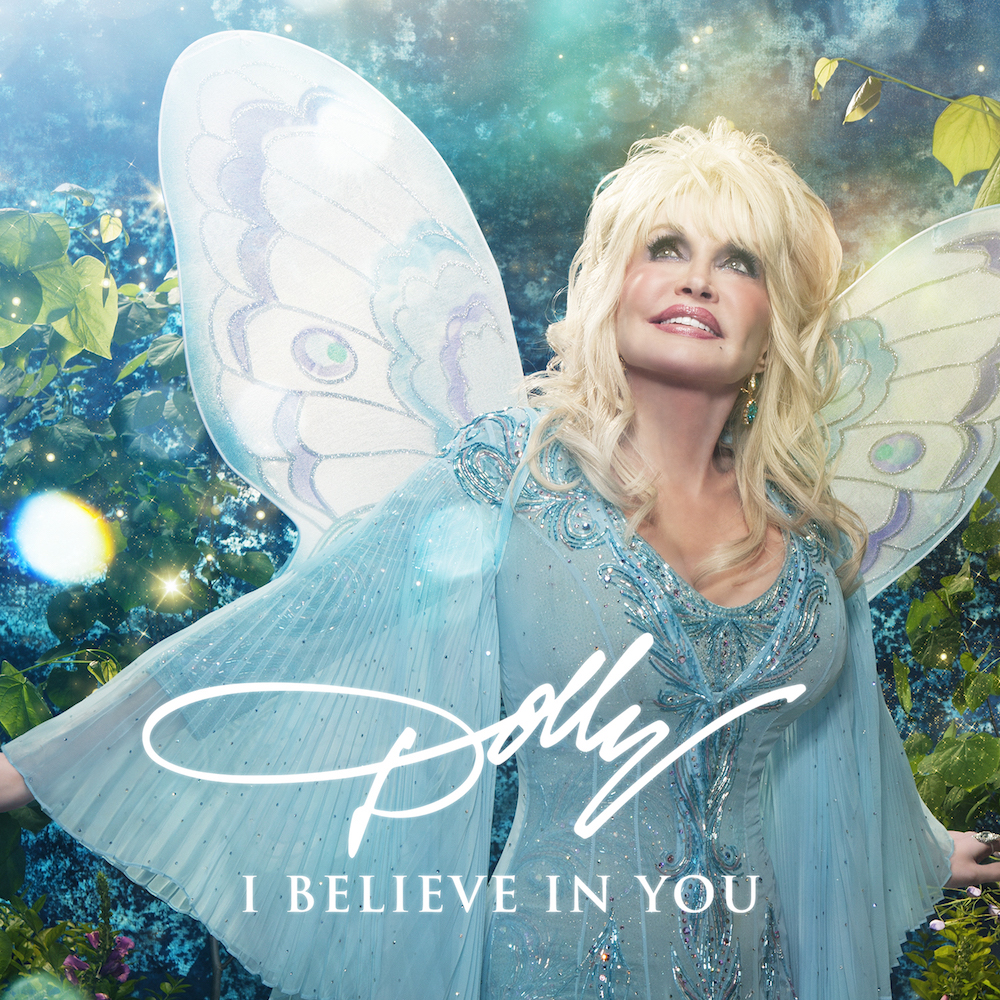 """Dolly Parton's latest album for children, """"I Believe In You""""."""