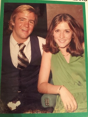 Bill and Crissy Haslam when they were dating.