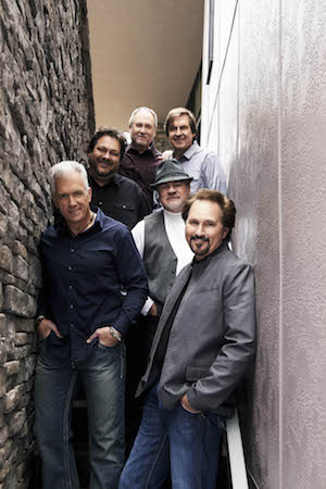 The members of Diamond Rio pose for a picture.