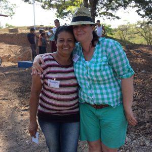 Donna Barrett in Nicaragua