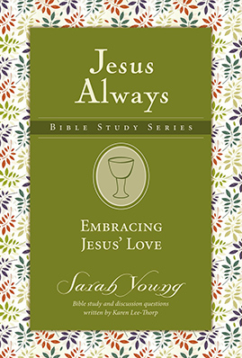 Jesus Always Embracing Jesus' Love book cover Sarah Young