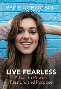 Sadie Robertson_Life Fearless book cover