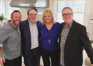 Comedians Chonda Pierce and Ken Davis with Dinner Conversations with Mark Lowry and Andrew Greer