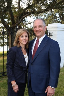 From high school sweethearts to become Governor John Bel & First Lady Donna Edwards (Louisiana)