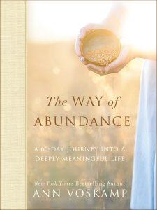 Ann Voskamp - The Way of Abundance book cover (Jesus Calling podcast)