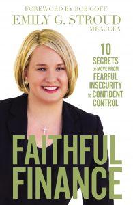 Emily G. Stroud - Faithful Finance book cover (Jesus Calling podcast)