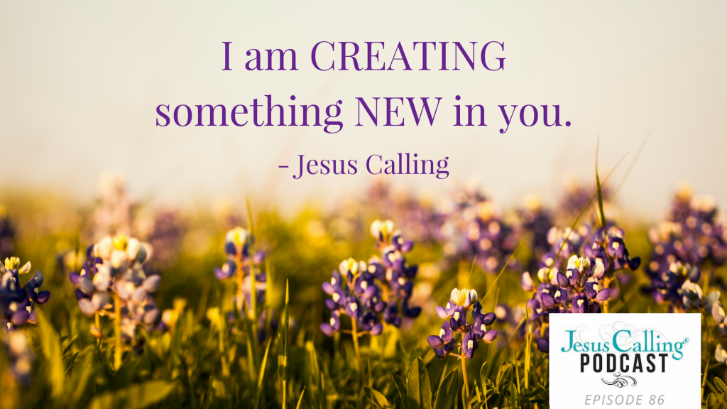 Jesus Calling podcast episode featuring Ann Voskamp and Emily Stroud