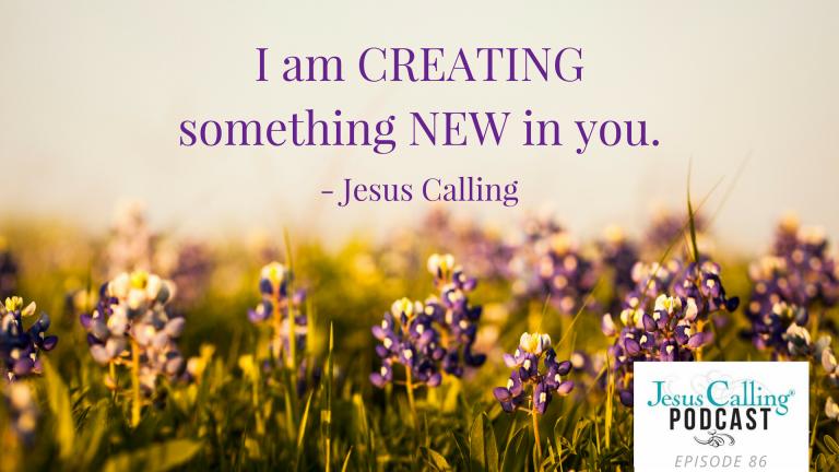 Ann Voscamp on Jesus Calling Podcast