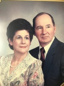 Super Bowl Champion quarterback, Jeff Hostetler's father & mother
