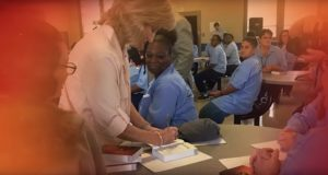 First Lady of Louisiana Donna Edwards Brings Hope to Incarcerated Women