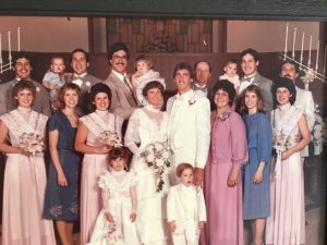 Jeff Hostetler wedding photograph