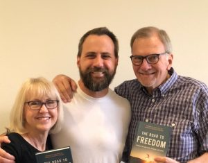 Celebrate Reovery's pastor Johnny Baker and his parents