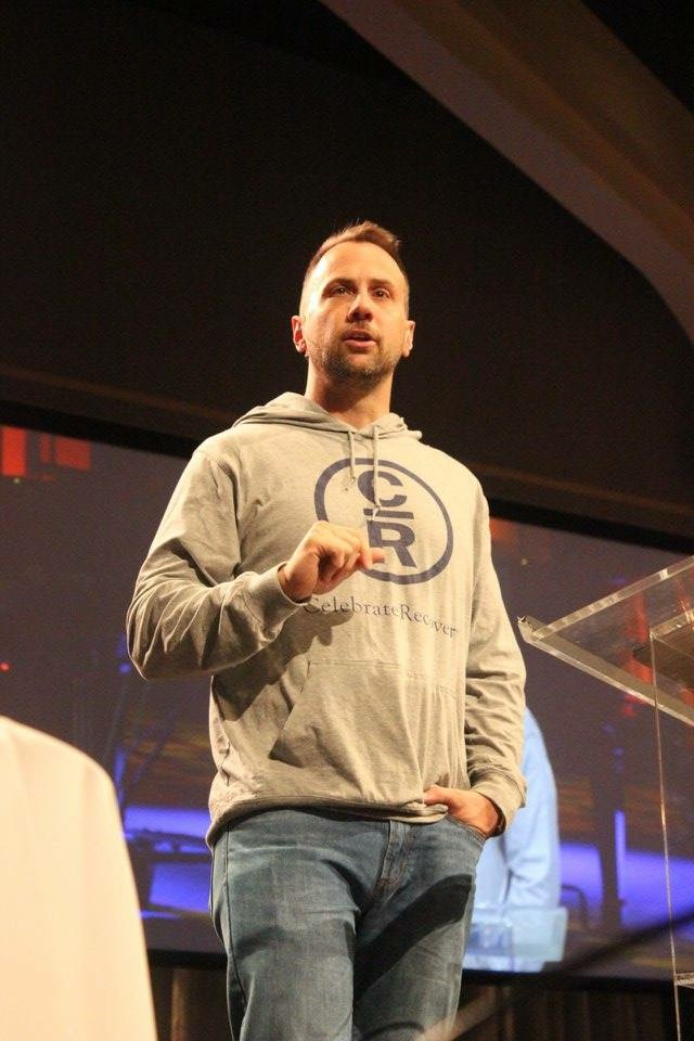 Celebrate Recovery Pastor Johnny Baker from Saddleback Church teaches God cares about our addiction