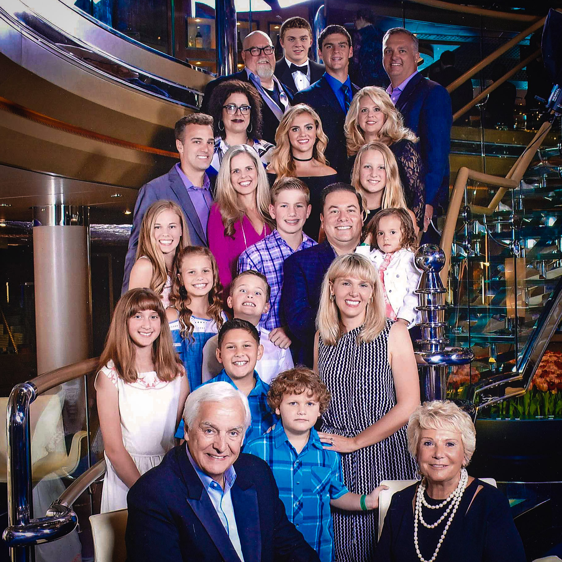 Dr David Jeremiah and family