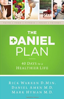 The Daniel Plan book - 40 Days to a Healthier Life by Rick Warren, Daniel Amen & Mark Hyman
