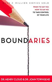 Boundaries book by Dr. Henry Cloud & John Townsend