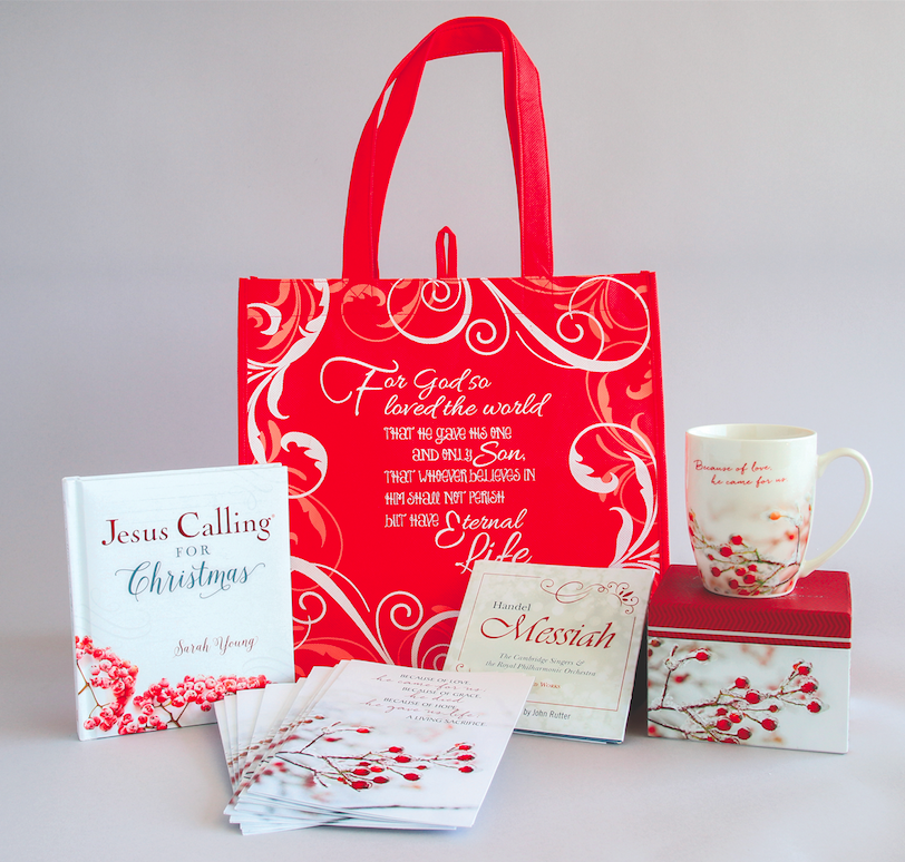 Jesus Calling Christmas 2018 bundle from Christian Book Distributors