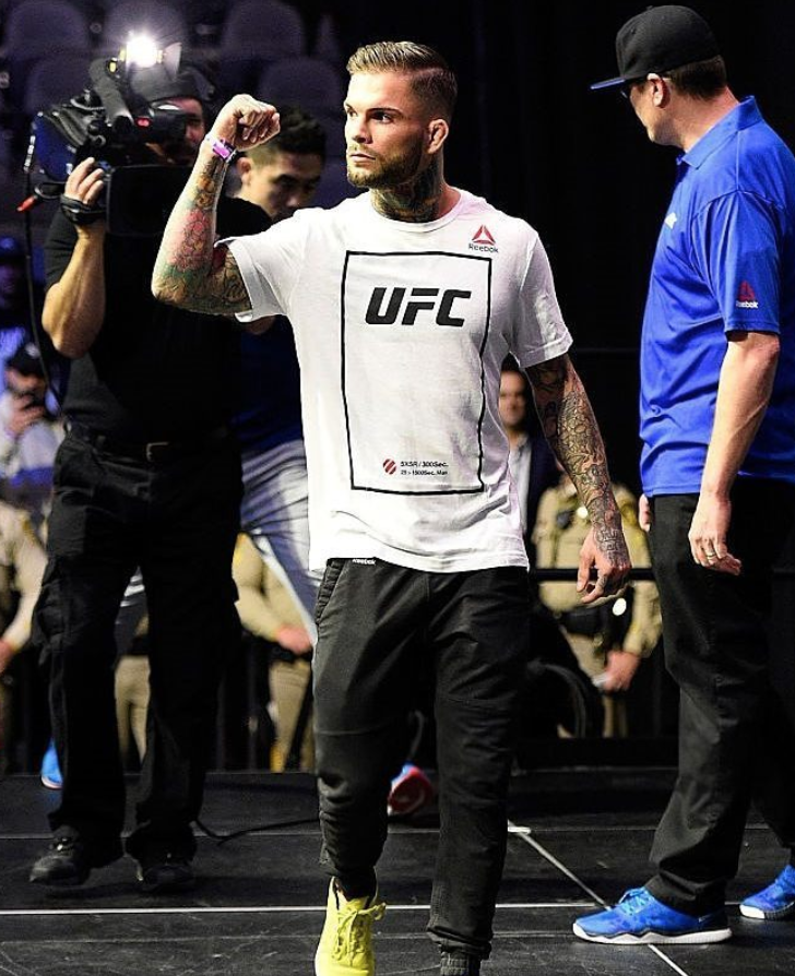 Cody No Love Garbrandt as featured on Jesus Calling podcast