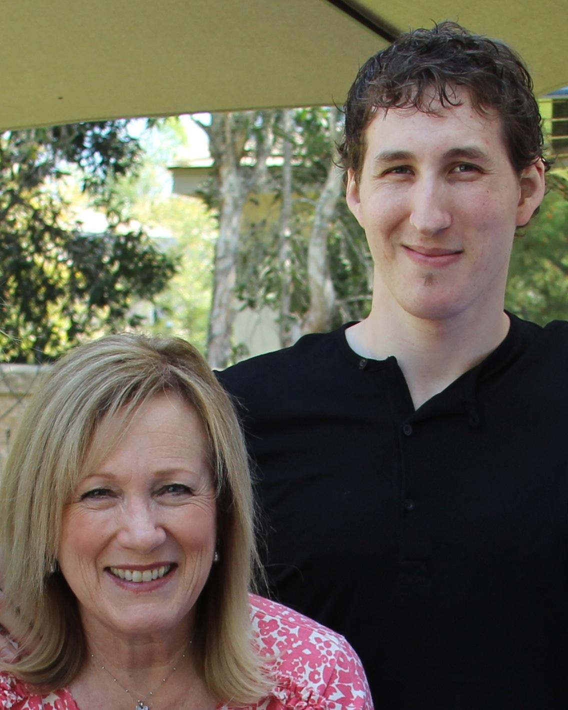 Kay Warren and her son, Matthew Warren