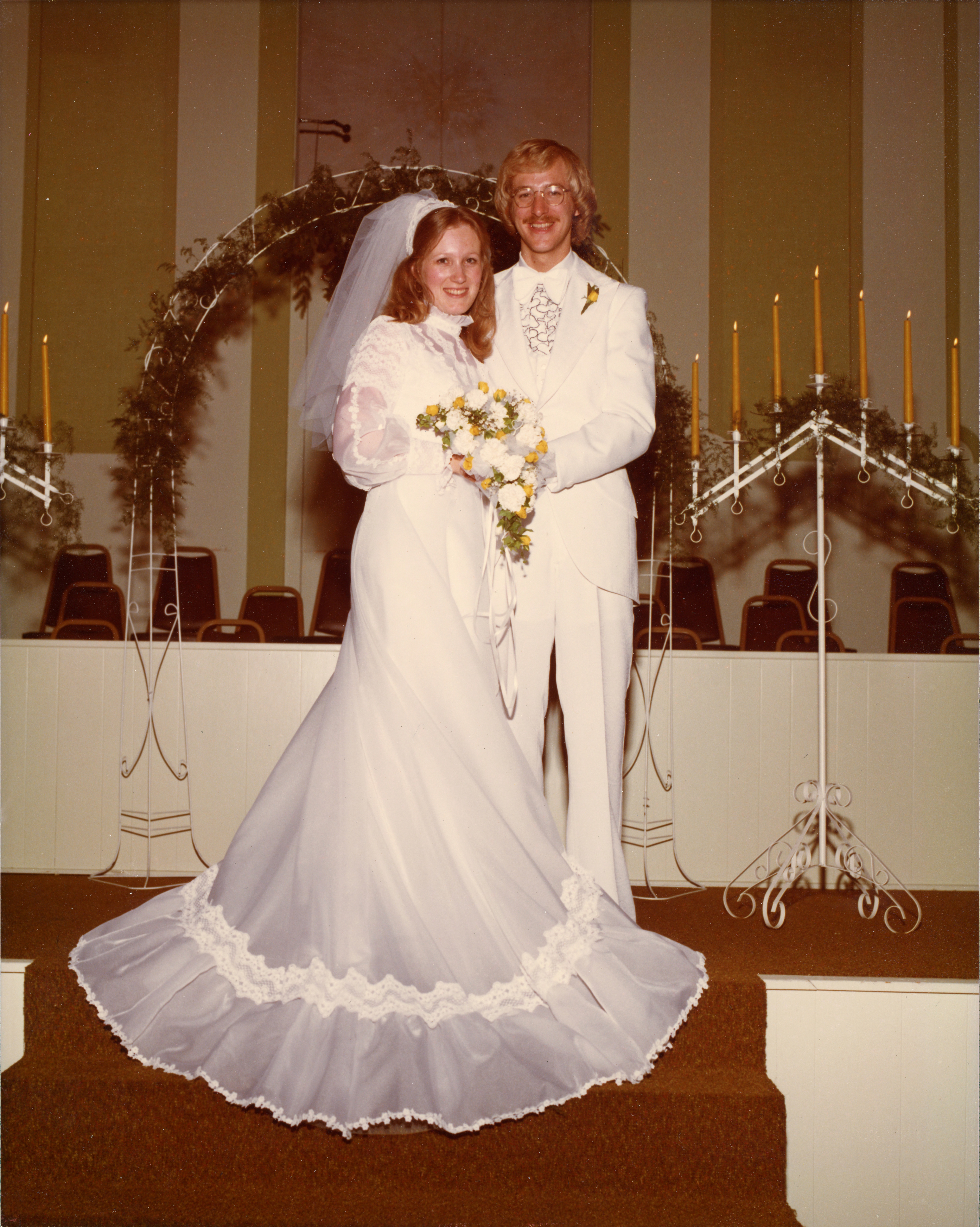Rick and Kay Warren wedding photo as featured on the Jesus Calling podcast