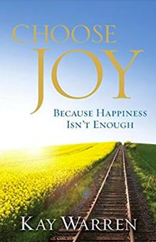 Kay Warren - Choose Joy book